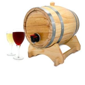 Barril dispensador de vino - Omega Detalles