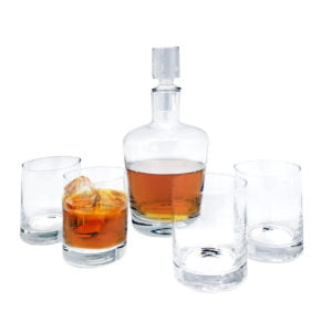 set de Whiskey transparente
