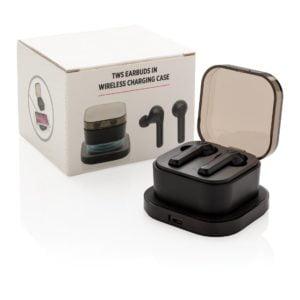 Pedir! Calcular fecha de pedido Comparar agregar a mis favoritos Auriculares TWS en caja de carga inalámbrica