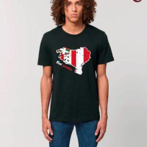 Camiseta Chico Mapa Negro