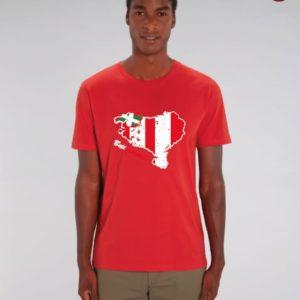 Camiseta Chico Mapa Rojo