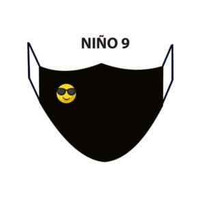 Mascarilla homologada Niñ@s ND9