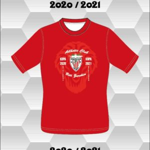 Camiseta Roja Final Copa del Rey 2020-2021